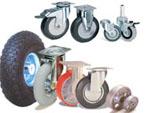 Мебельные колёсные опоры и колёса для тележек